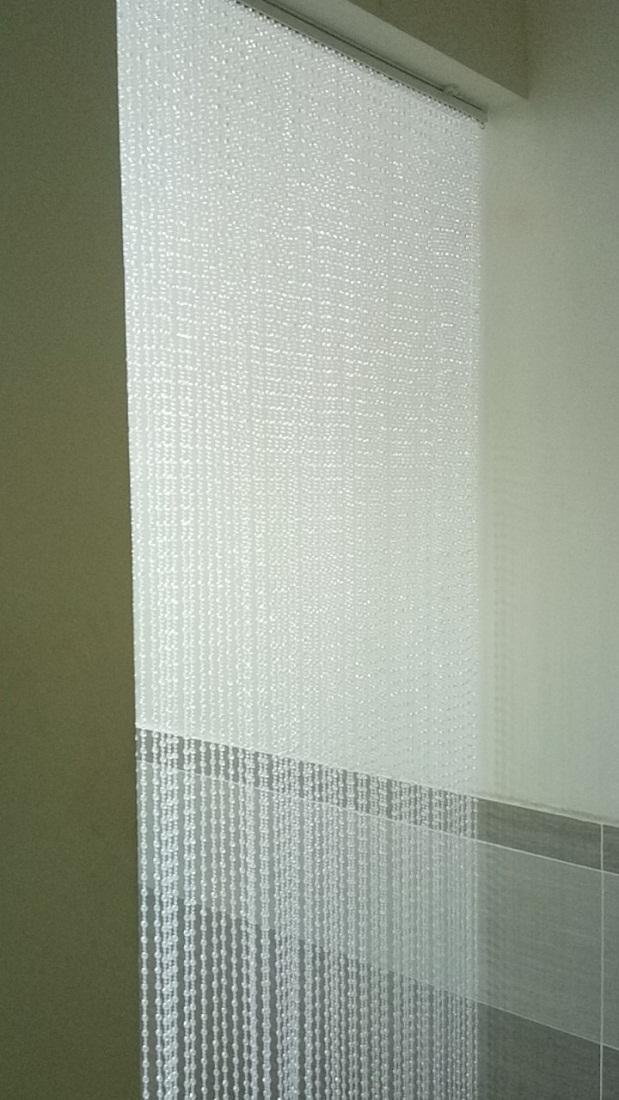 rèm hạt nhựa giả pha lê 221